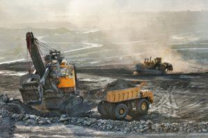 Mining Site 3 Heavy Bulldozers